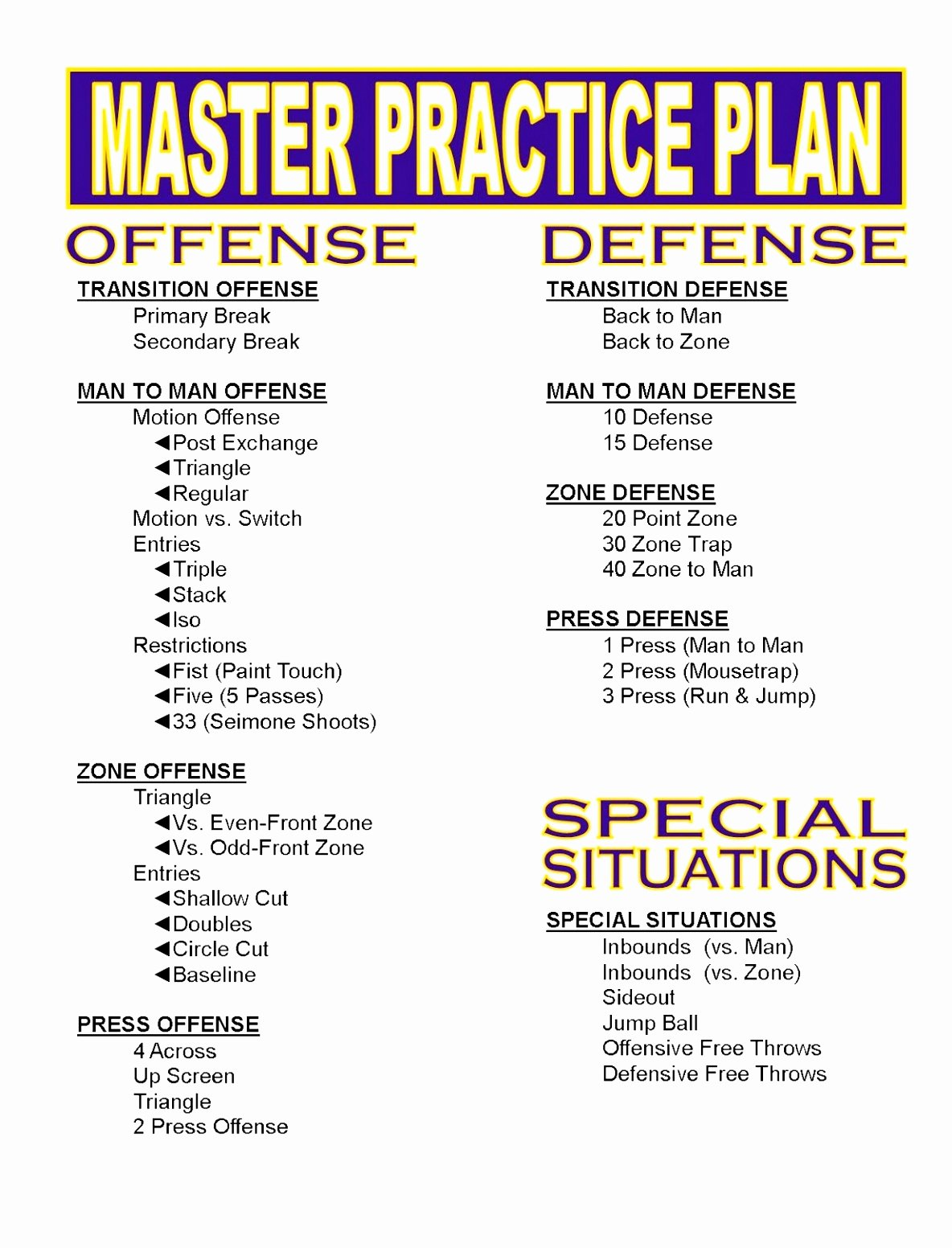 Blank Football Practice Plan Template Unique 12 Youth Football Practice Plans Templates byooy