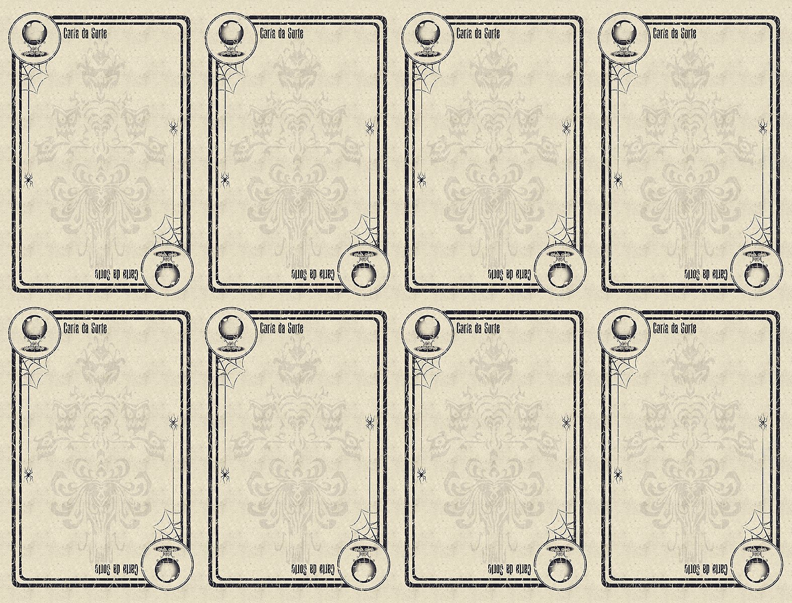 """Blank Game Card Template Beautiful """"escape From the Haunted Mansion"""" Board Game"""