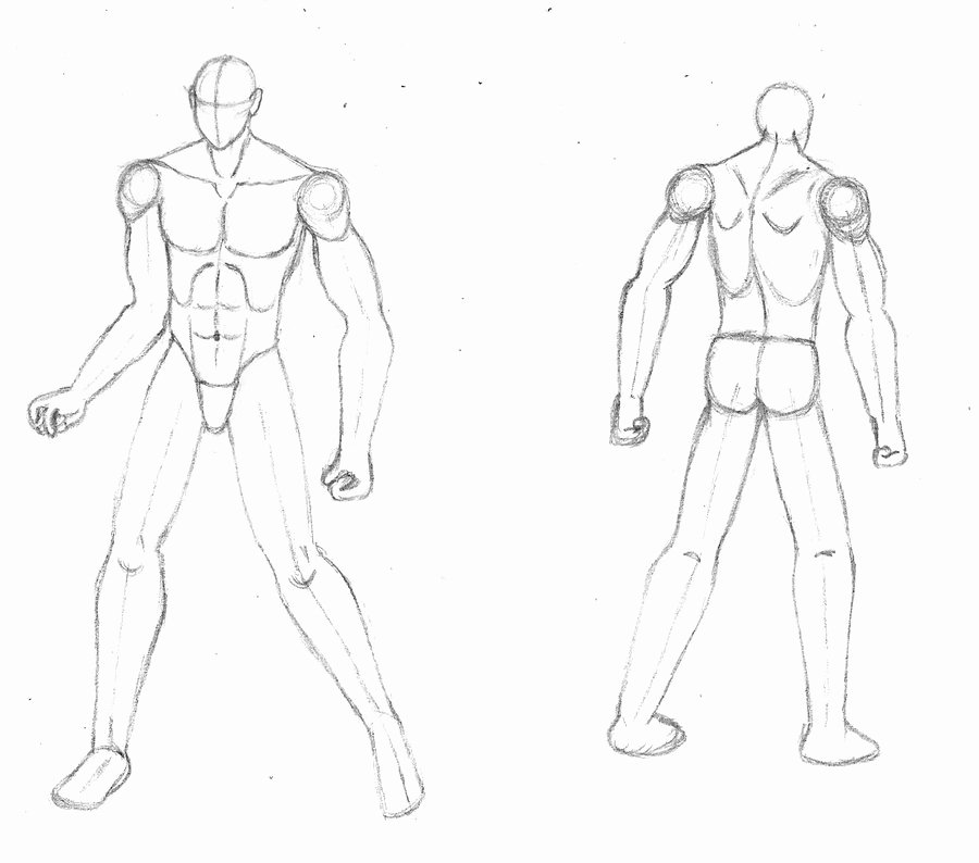 Blank Male Body Template Beautiful Male Body Template by Burgerforlunsh On Deviantart