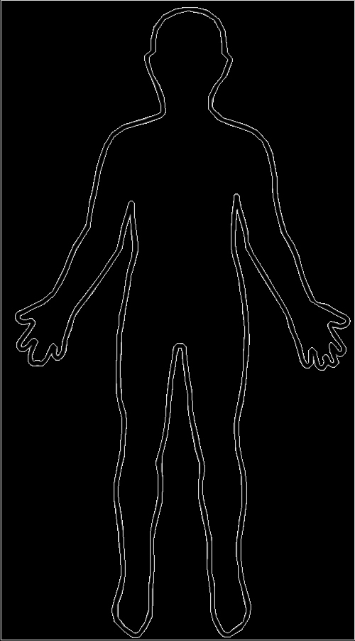 Blank Male Body Template Lovely File Outline Body
