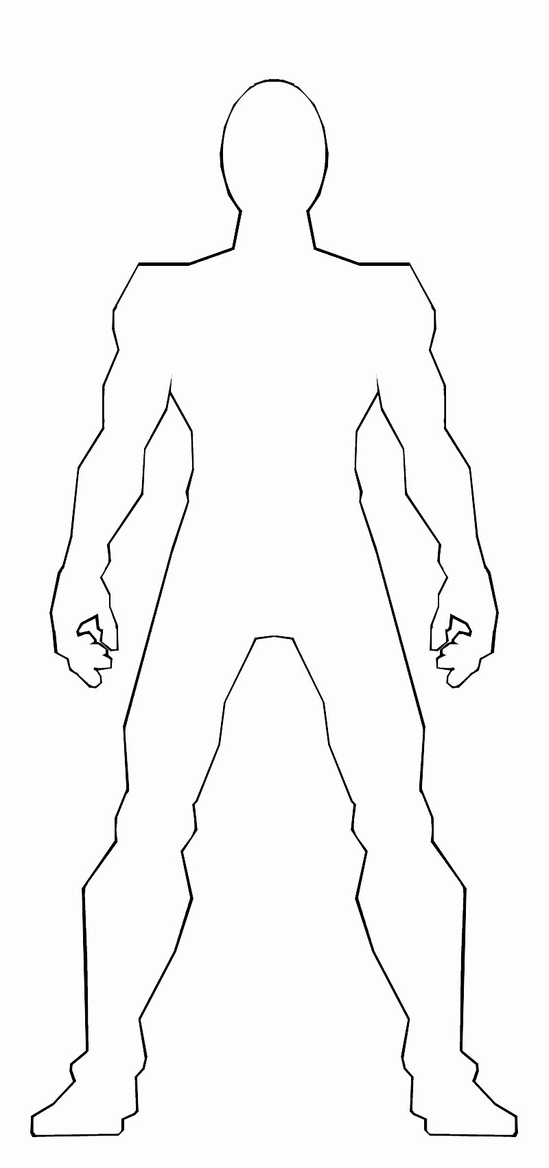 Blank Male Body Template Luxury Male Body Template by Ss209 On Deviantart