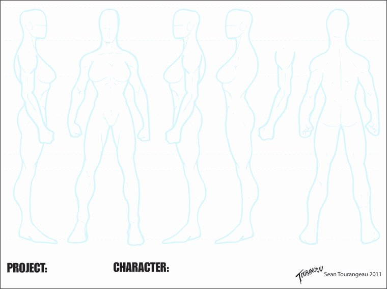 Blank Male Body Template New Blank athletic Female Sheet by Stourangeau On Deviantart