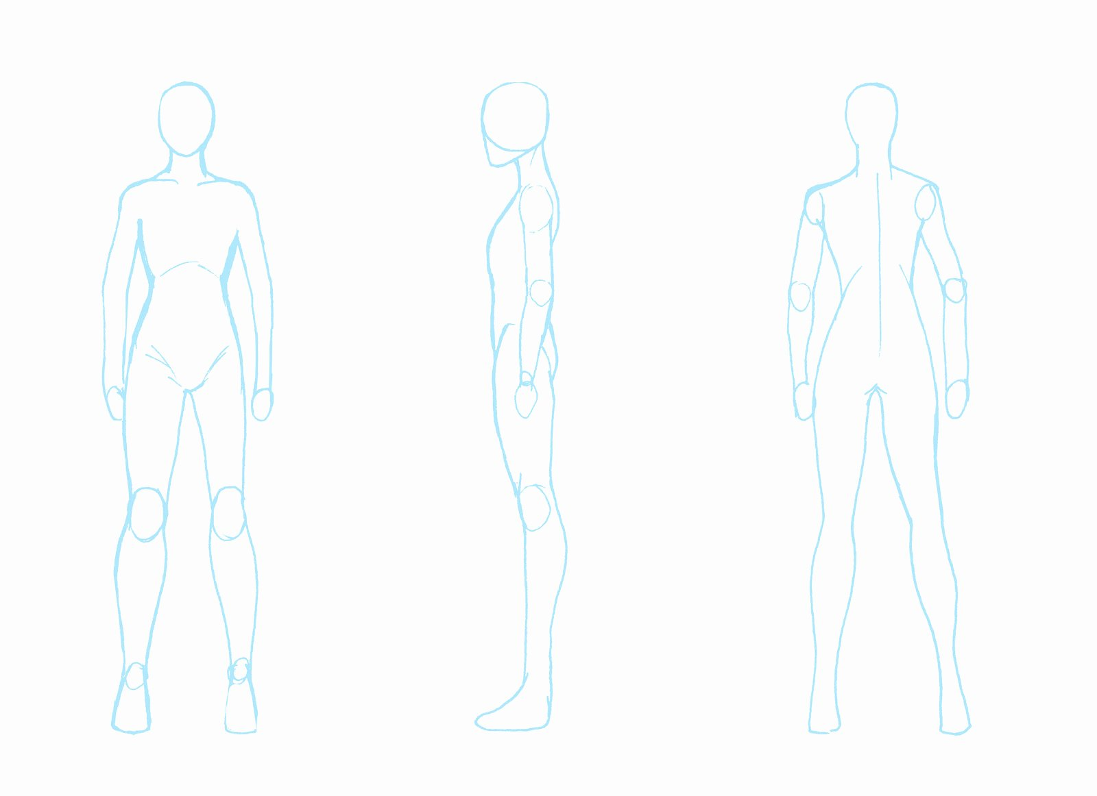 Blank Male Body Template New Resource Blank Body Turnaround by Zpansven On Deviantart
