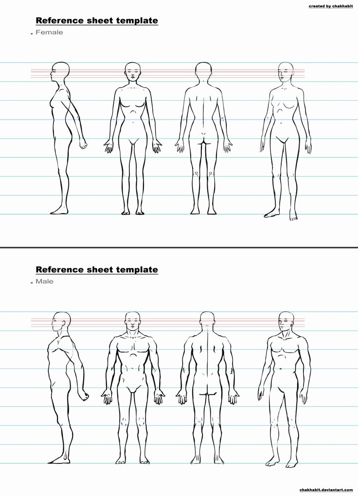 Blank Model Sketch Template Fresh Character Design Sheet Template Google Search