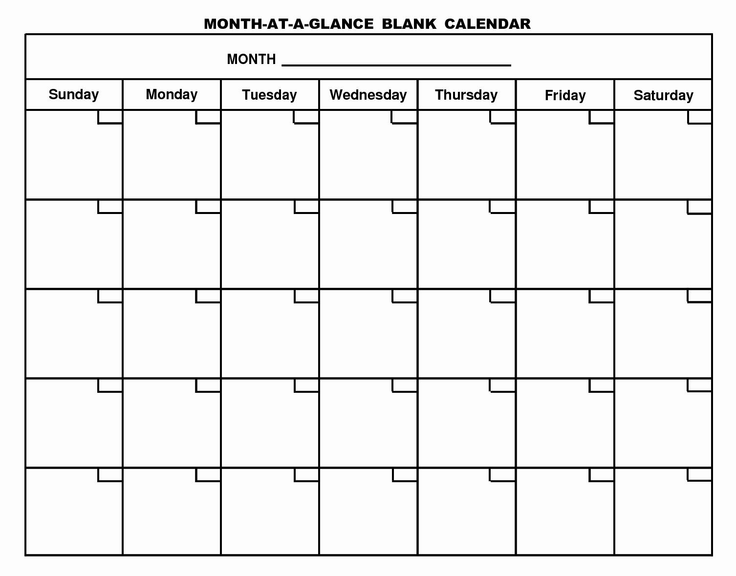 Blank One Week Calendar Awesome Printable Blank Calendar Template … organizing