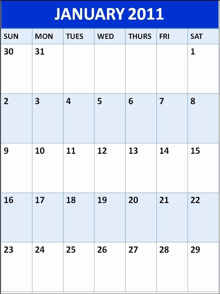 Blank One Week Calendar New Blank Weekly Menu Planner