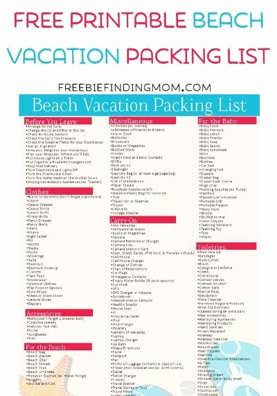 Blank Packing List Lovely Best 25 Packing List Template Ideas On Pinterest