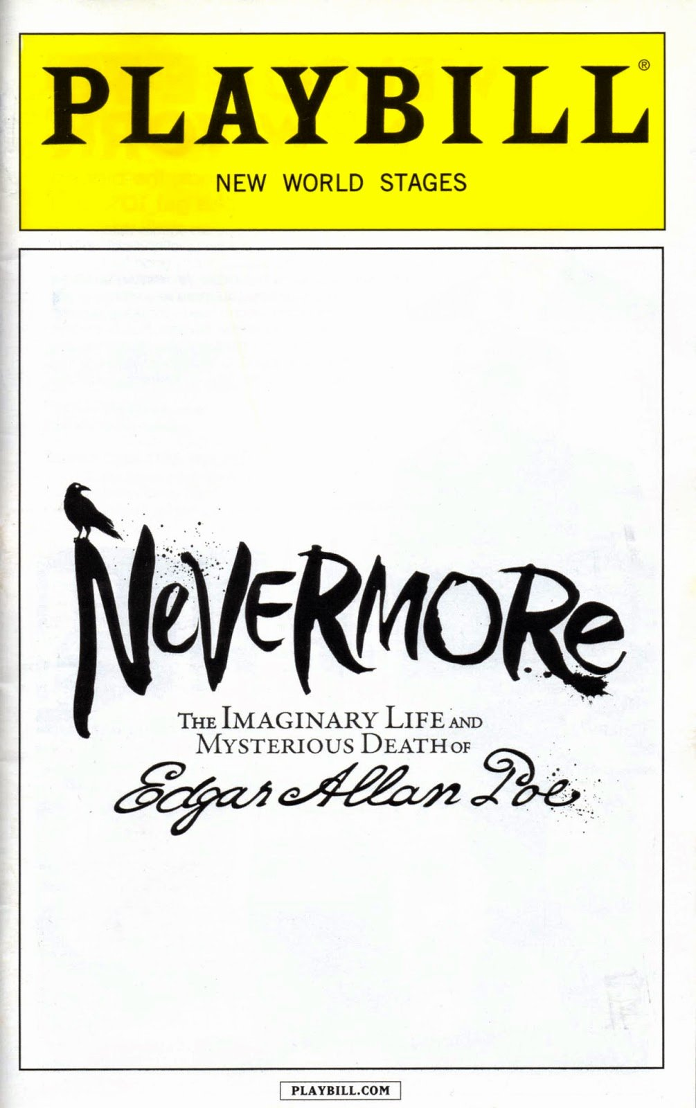 Blank Playbill Template Elegant Playbill Template Word Pdf Shop Free Download