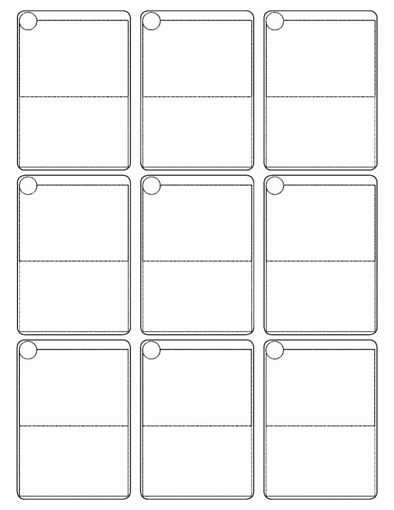 Blank Playing Card Template Beautiful Pokemon Cards Template