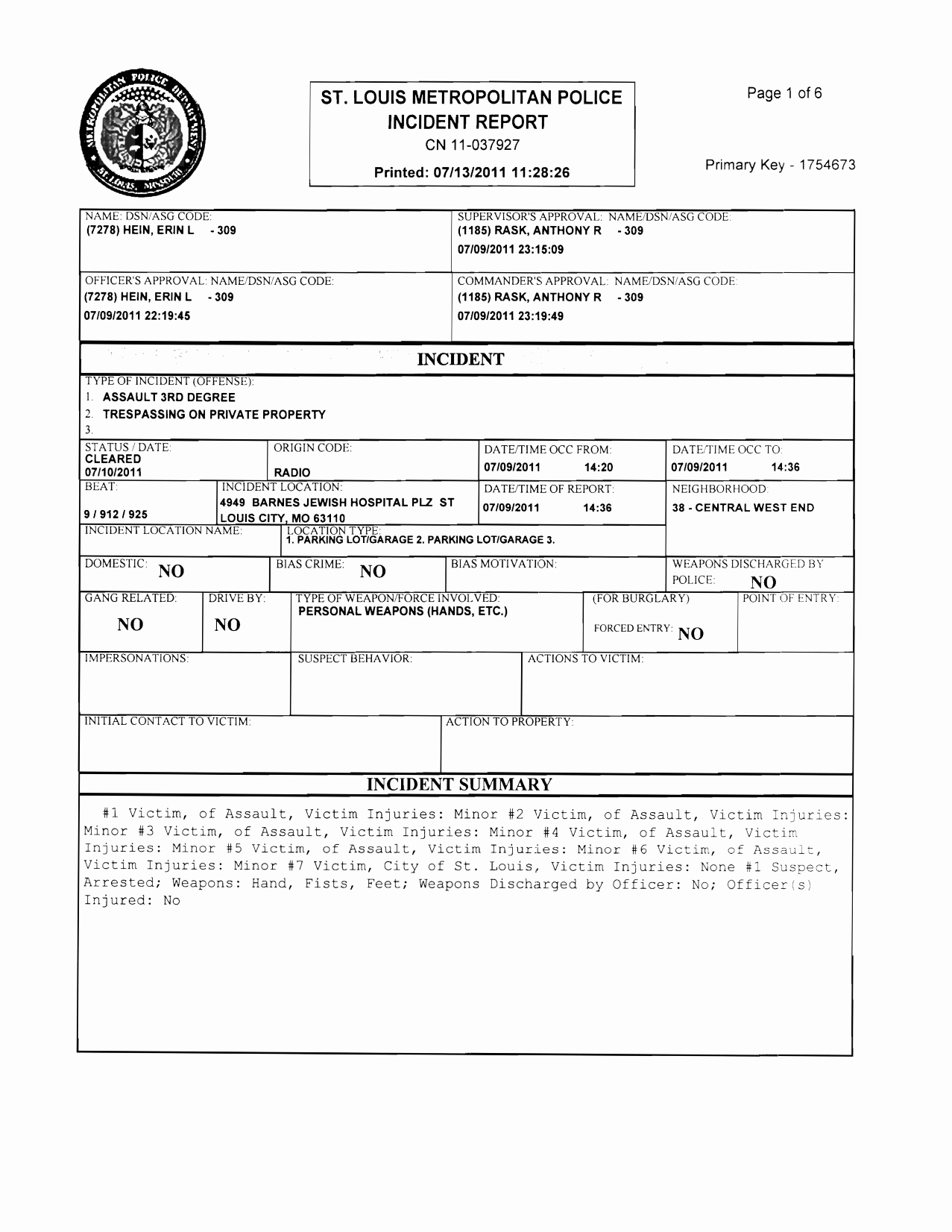 Blank Police Report Template Elegant Best S Of Police Incident Report Template Blank