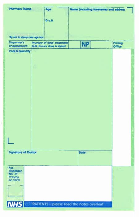 Blank Prescription Pad Template Elegant Prescriptions Pharmplex Direct Pharmplex Direct Uk
