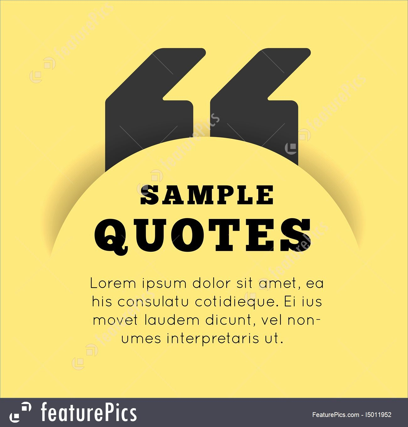 Blank Quote Template Awesome Quote Blank Template Stock Illustration I at
