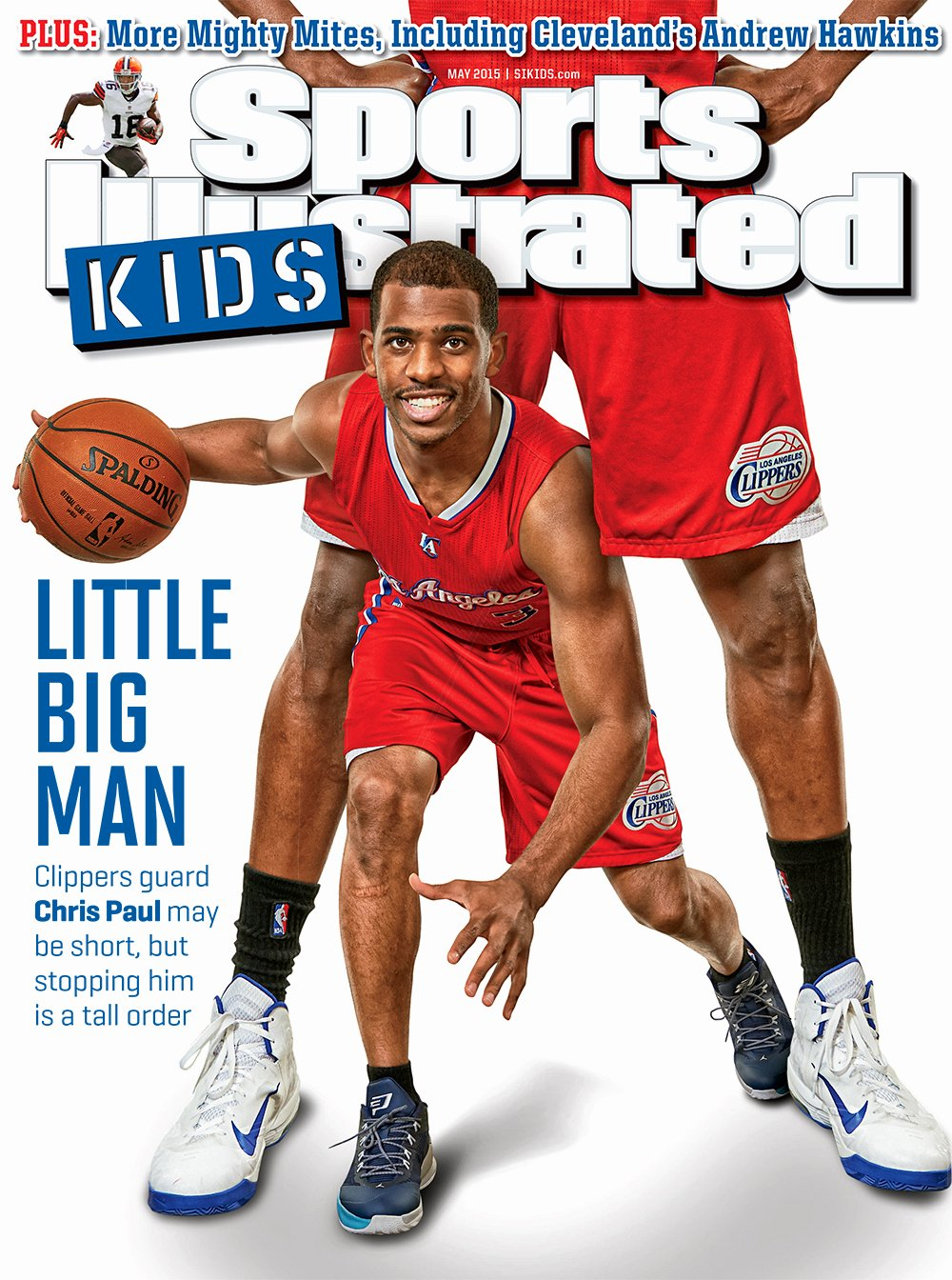 Blank Sports Illustrated Cover Awesome First Look Chris Paul On Si Kids' May 2015 Cover