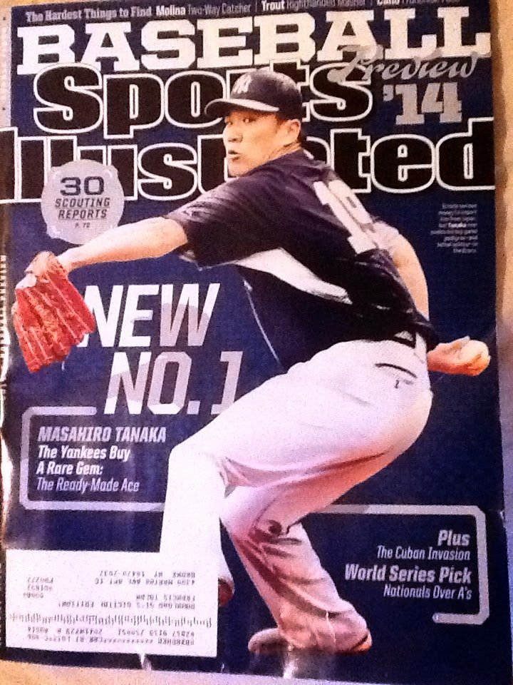 Blank Sports Illustrated Cover Awesome How Blank How Should We Feel About the Tanaka Si Cover