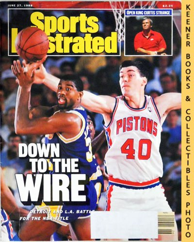 Blank Sports Illustrated Cover Awesome Sports Illustrated Magazine June 27 1988 Vol 68 No 26