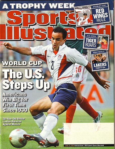 Blank Sports Illustrated Cover Beautiful the Writing and Re Writing Of Landon Donovan – Tyac