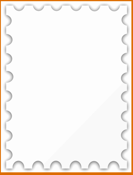Blank Stamp Template Beautiful 8 Blank Outline Template