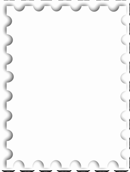 Blank Stamp Template Luxury Blank Postage Stamp Template Kb Clip Art at Clker