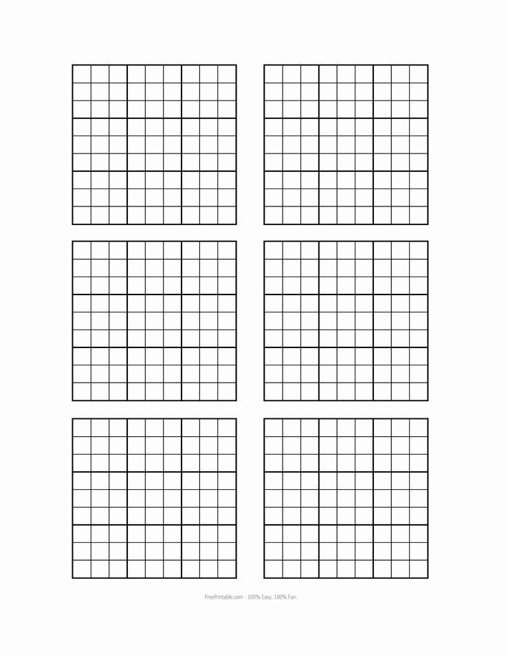 Blank Sudoku Grid Printable Beautiful Free Printable Blank Sudoku Grids Misc Stuff