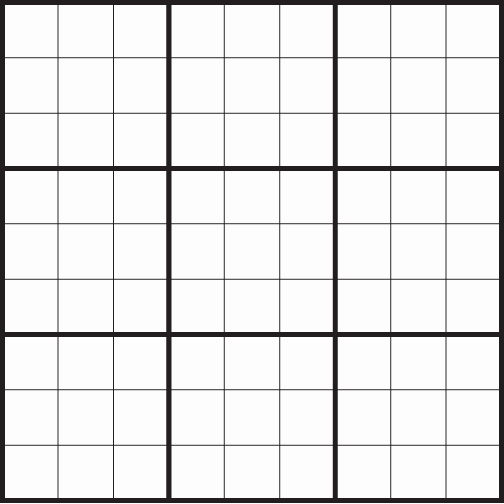 Blank Sudoku Grid Printable Best Of Blank Sudoku Grid for Download and Printing Puzzle Stream