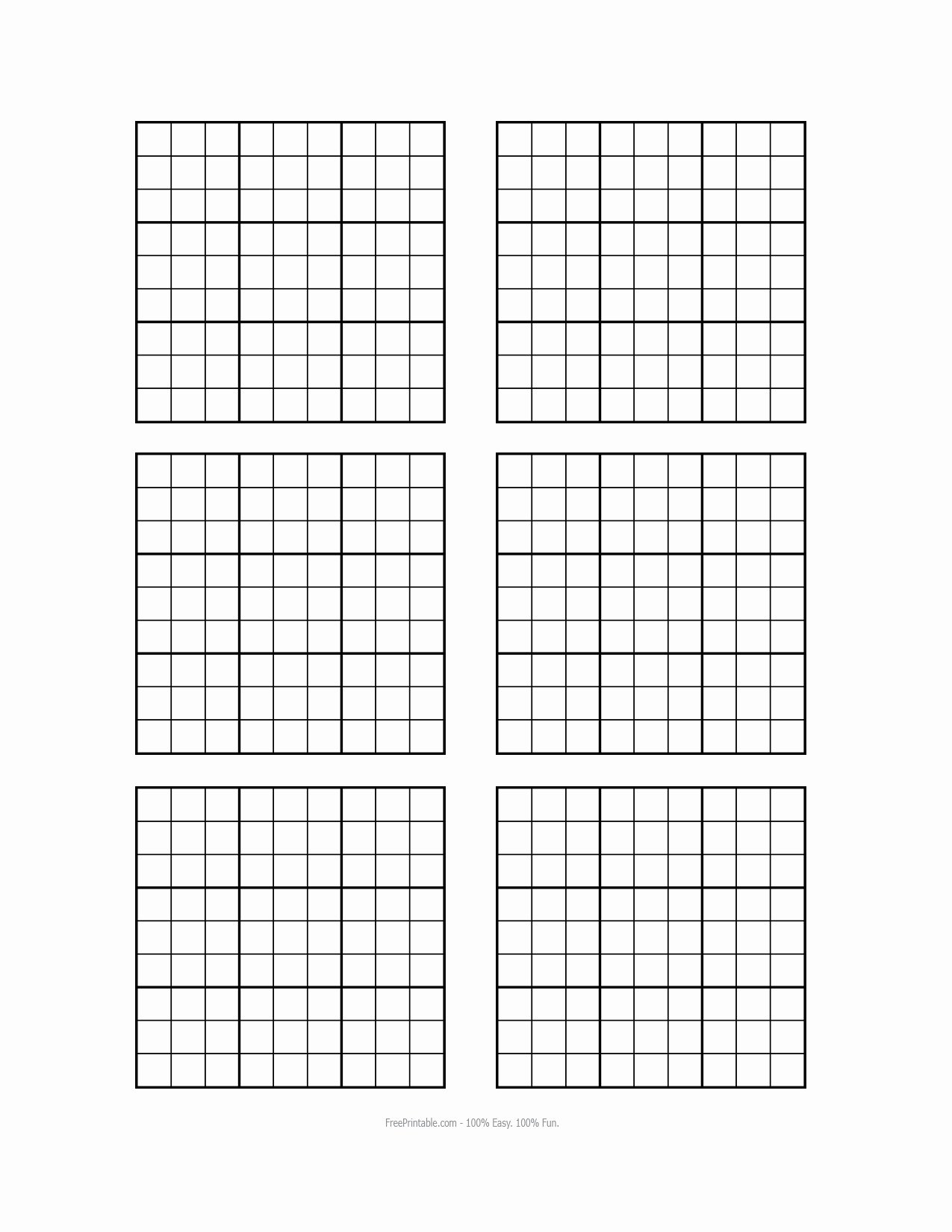 Blank Sudoku Grid Printable Elegant Other Printable Gallery Category Page 231