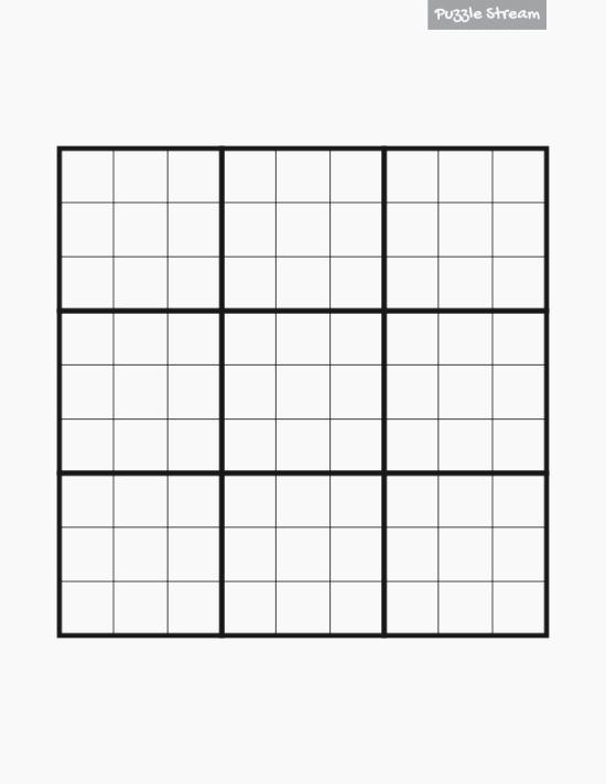 Blank Sudoku Grid Printable Inspirational 442 Genius Printable Sudoku Puzzles 42 Per Page