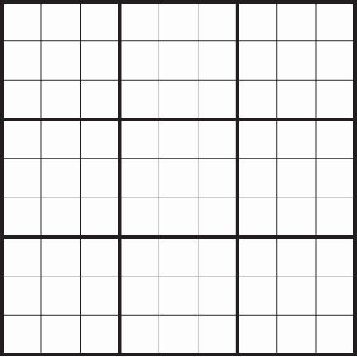 Blank Sudoku Grid Printable New Blank Sudoku Printable Pages – Ezzy