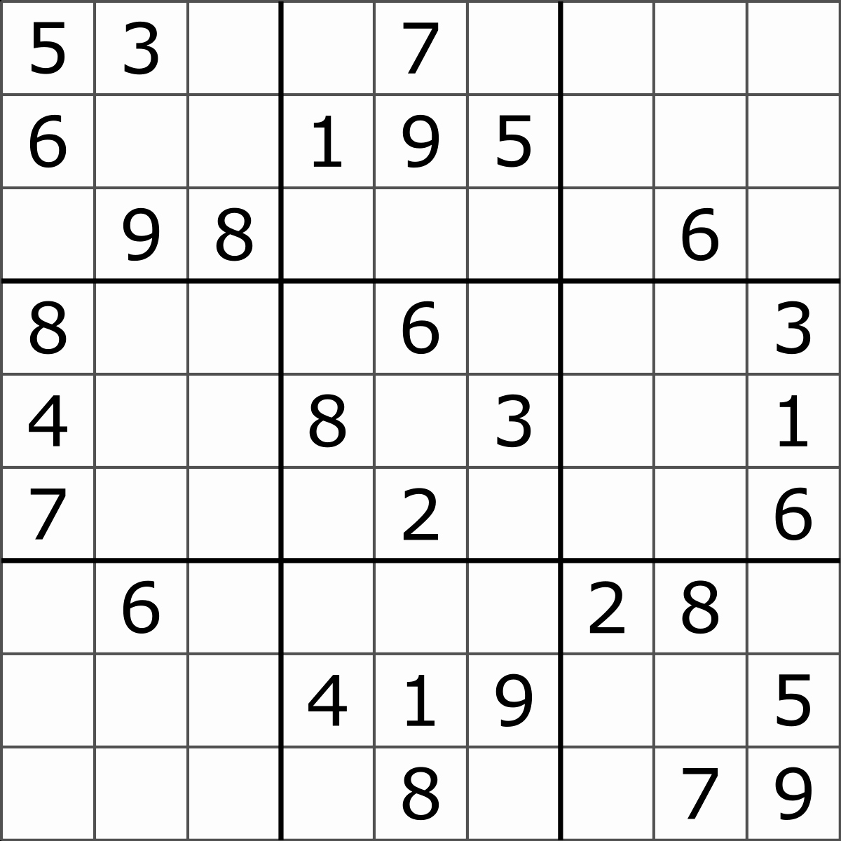 Blank Sudoku Grid Printable New Sudoku
