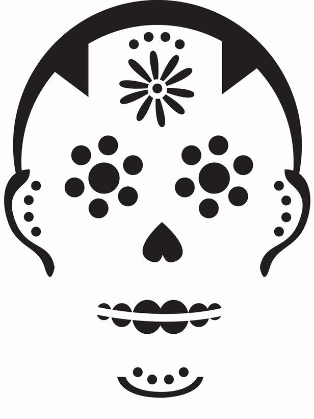 Blank Sugar Skull Template Elegant 34 Halloween Pumpkin Carving Templates