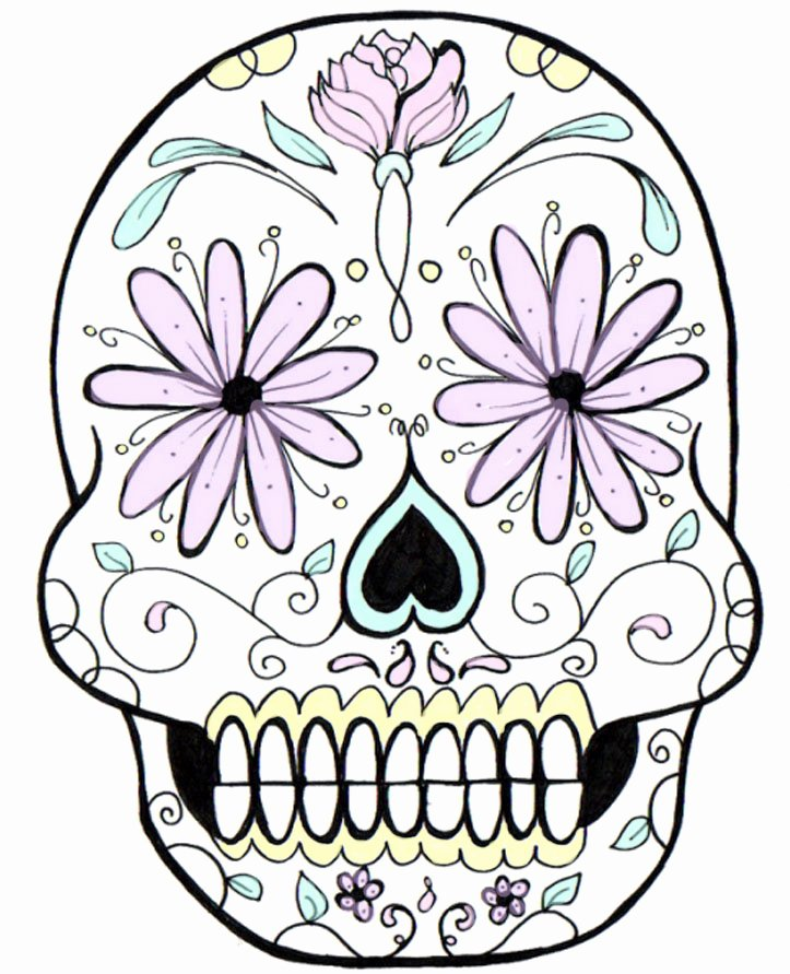 Blank Sugar Skull Template Inspirational Free Skulls Download Free Clip Art Free Clip
