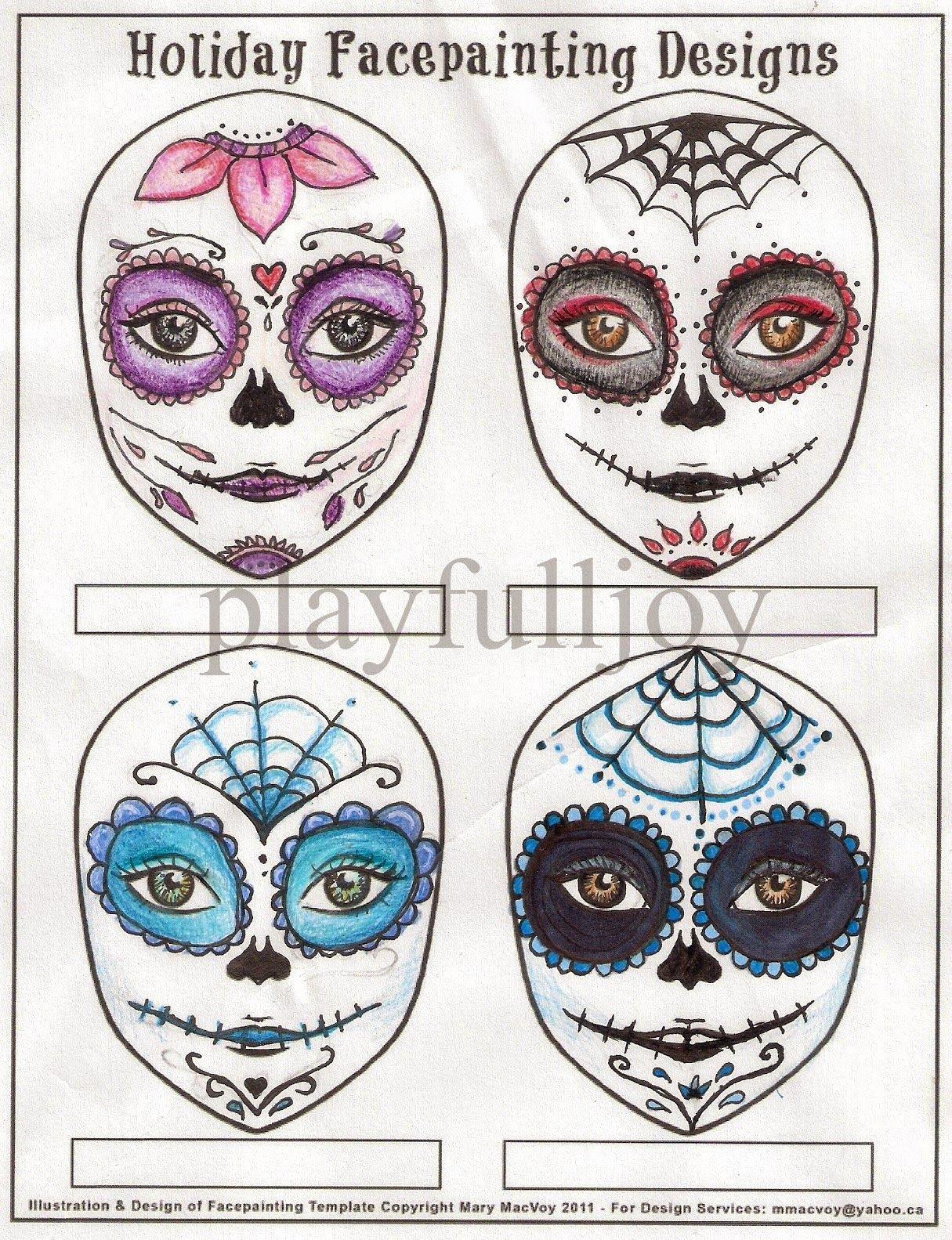 Blank Sugar Skull Template Lovely Blank Sugar Skull Template Google Search