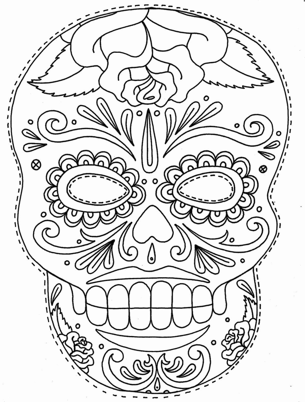 Blank Sugar Skull Template Luxury Tattoos Book 2510 Free Printable Tattoo Stencils Skulls