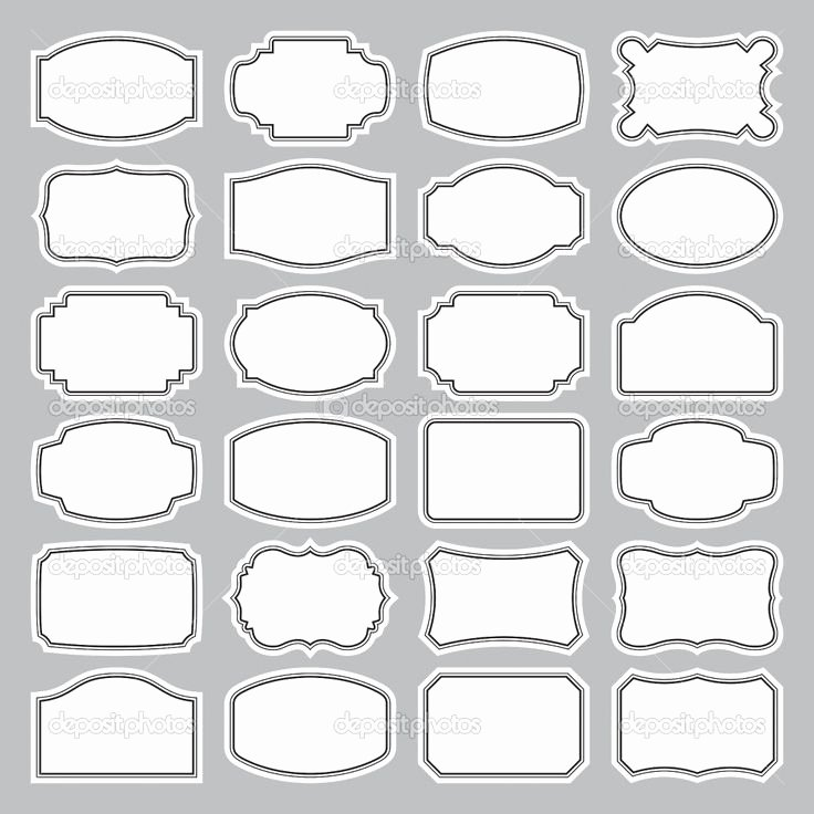Blank Tags Printable Awesome Best 25 Label Templates Ideas On Pinterest