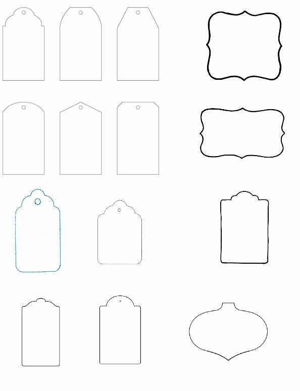 Blank Tags Printable Lovely Blank T Tag Templates the Art Of Ting