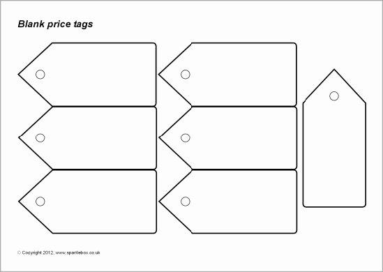 Blank Tags Printable New Blank and Editable Price Tags Templates Sb7782