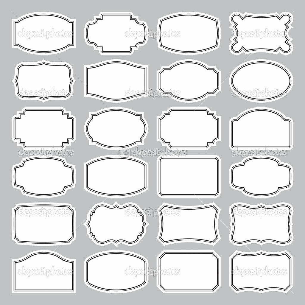 Blank Tags Printable Unique Label Template Category Page 3 Efoza
