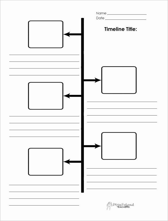 Blank Timeline Worksheet Pdf New 47 Blank Timeline Templates Psd Doc Pdf