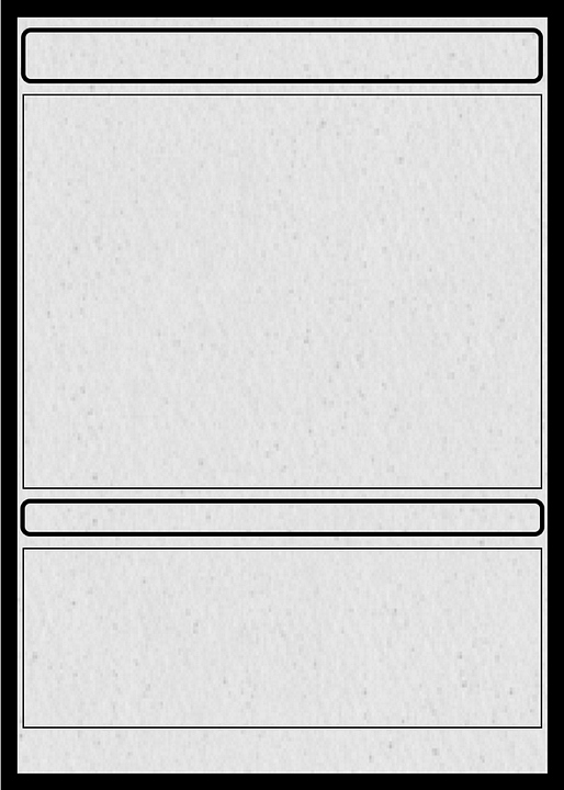 Blank Trading Card Template Beautiful Card Trading Collectible · Free Image On Pixabay
