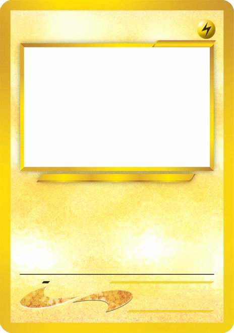 Blank Trading Card Template Best Of Blank Pokemon Card Template Best Photos Of Pokemon Trading