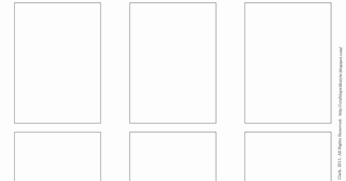 Blank Trading Card Template Best Of Crafting with Style Free atc Templates and Artwork for atc S