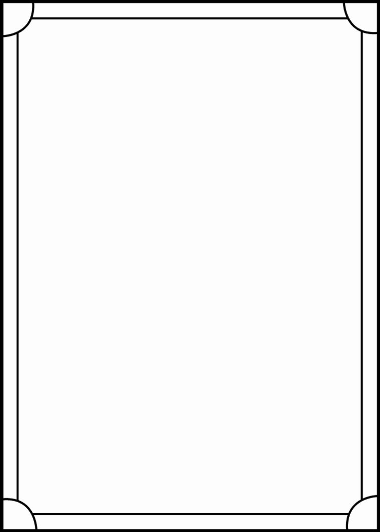 Blank Trading Card Template Best Of Trading Card Template Back by Blackcarrot1129 On Deviantart