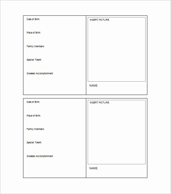 Blank Trading Card Template Best Of Trading Card Template