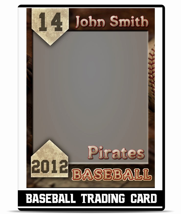 Blank Trading Card Template Inspirational Baseball Card Template Beepmunk