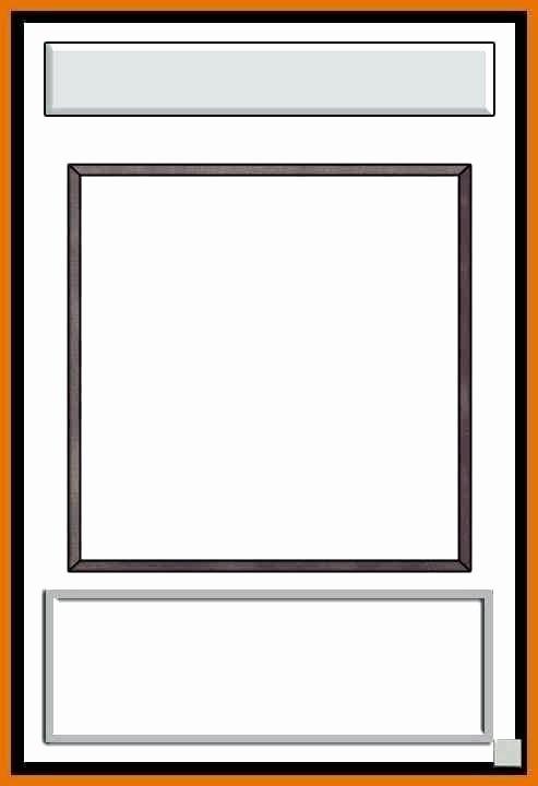 Blank Trading Card Template Lovely Baseball Card Template Card Template Baseball Card