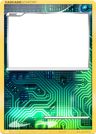 Blank Trading Card Template Lovely Cyber Blank by Nod3 On Deviantart