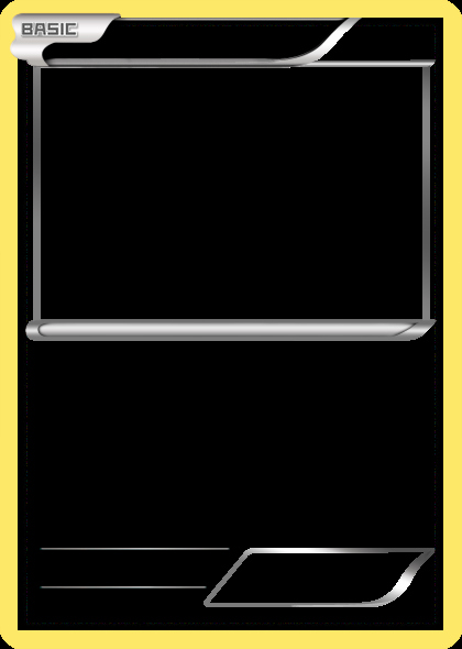 Blank Trading Card Template Unique Blank Pokemon Card Classroom Pinterest