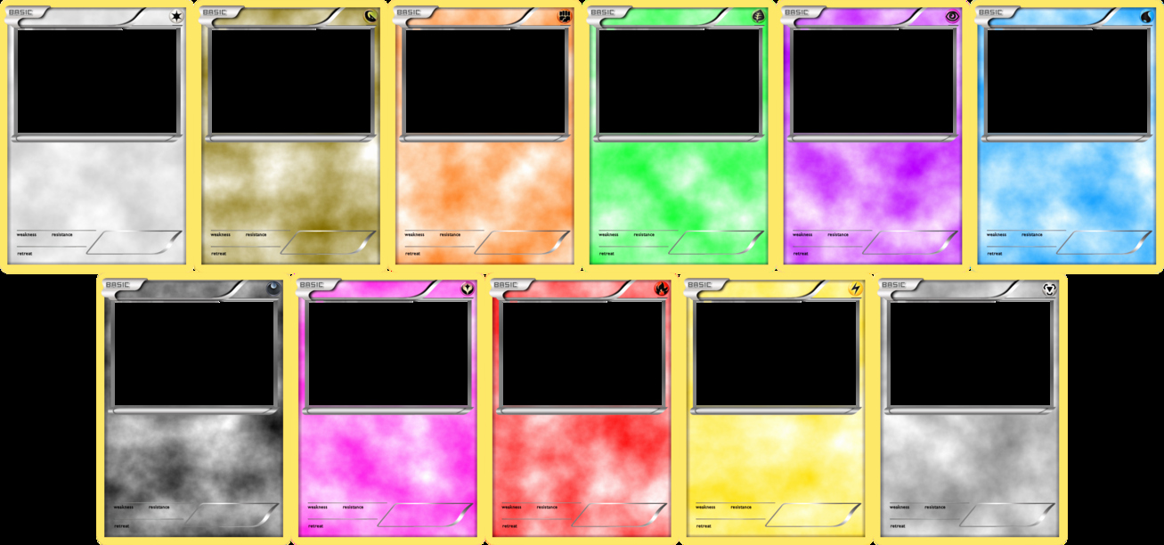 Blank Trading Card Template Unique Pokemon Trading Card Template