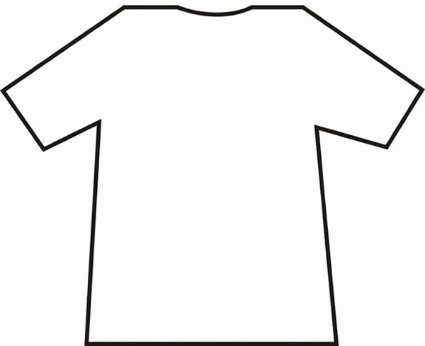 Blank Tshirt Template Awesome Blank T Shirt Template