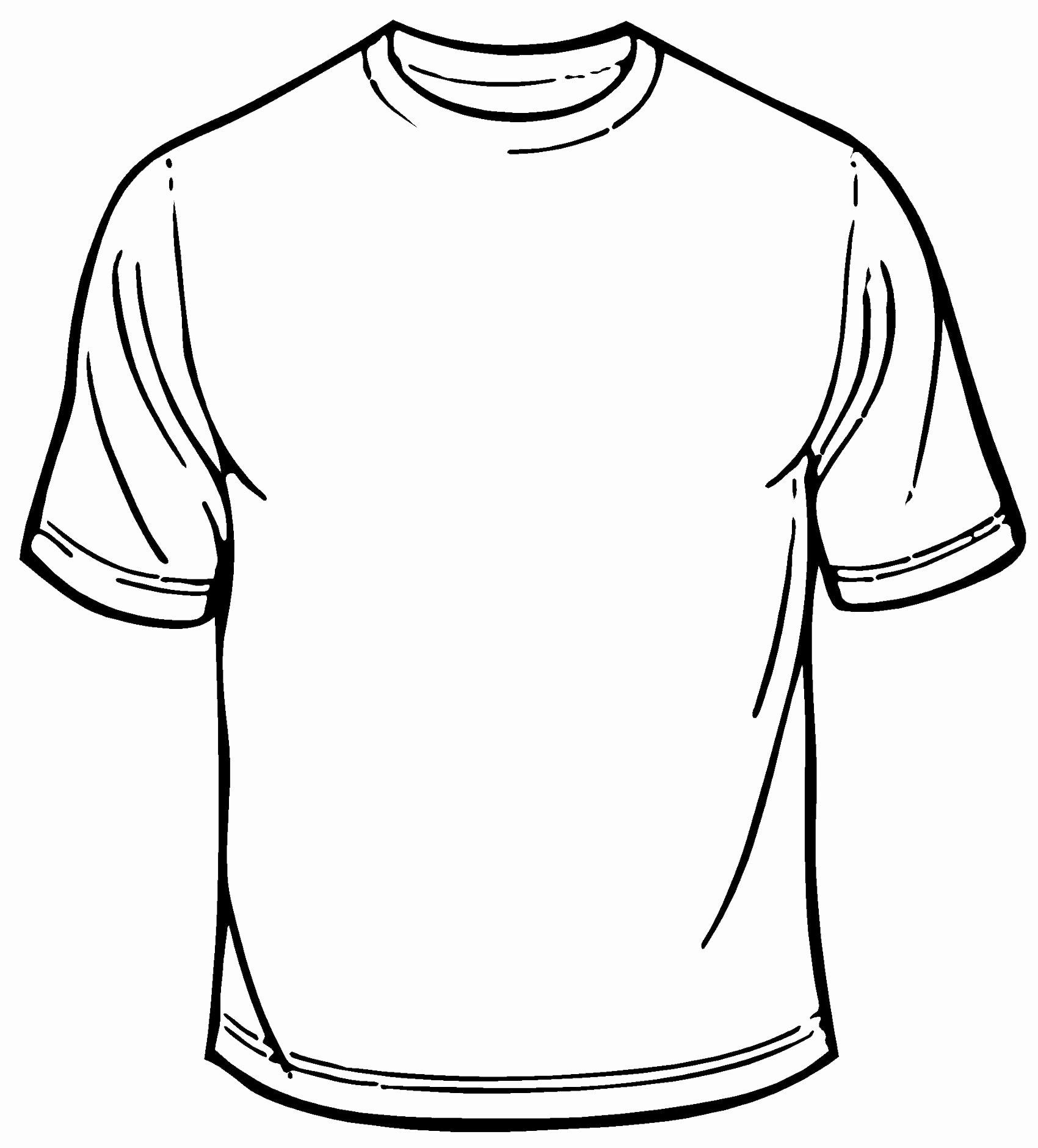 Blank Tshirt Template Beautiful Blank T Shirt Template