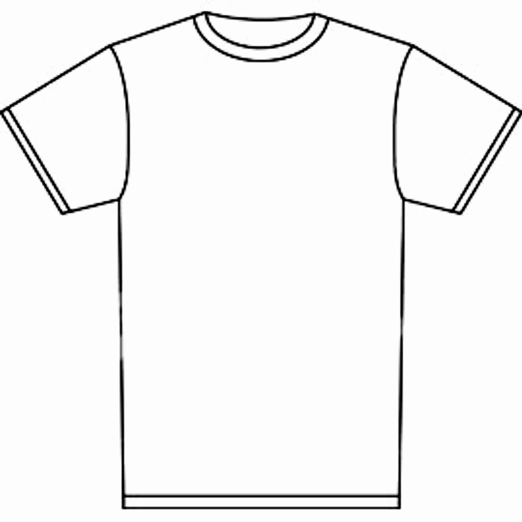 Blank Tshirt Template Best Of Free T Shirt Template Printable Download Free Clip Art